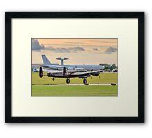 Avro Lancaster B.X FM213/C-GVRA landing Framed Print