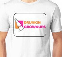 DRUNKIN GROWNUPS Unisex T-Shirt