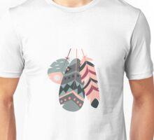 Tribal feather pattern 006 Unisex T-Shirt