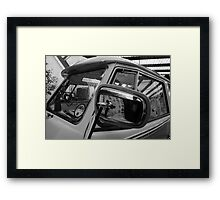 VW Camper Split Screen Framed Print