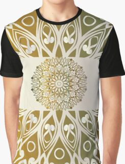 background with mandala Graphic T-Shirt
