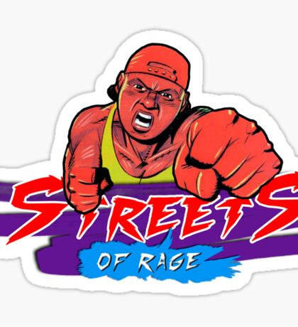 Streets of Rage - Skate Sticker