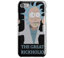 The Great Rickholio Rick And Morty iPhone Case/Skin
