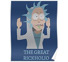 The Great Rickholio Rick And Morty Poster