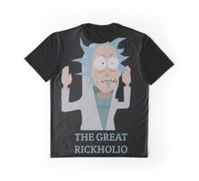 The Great Rickholio Rick And Morty Graphic T-Shirt