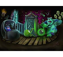 Haunted Monsters Inc Photographic Print