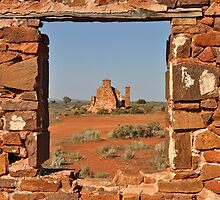 Pondanna ruins, South Australia by Ian Berry