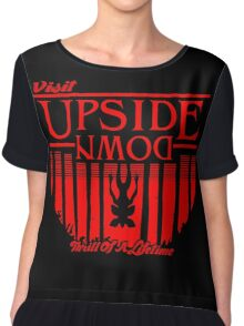 Visit Upside Down Chiffon Top