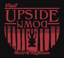 Visit Upside Down Kids Tee