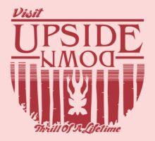 Visit Upside Down One Piece - Short Sleeve