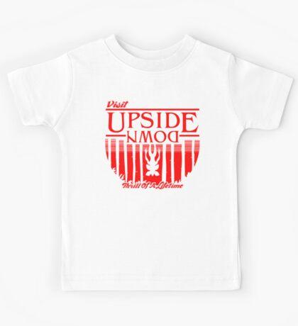 Visit Upside Down Kids Tee