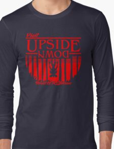 Visit Upside Down Long Sleeve T-Shirt