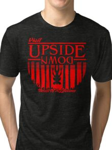 Visit Upside Down Tri-blend T-Shirt