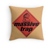 Massive Trap Throw Pillow