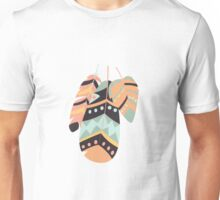 Tribal feather pattern 010 Unisex T-Shirt