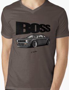 The Boss Mens V-Neck T-Shirt