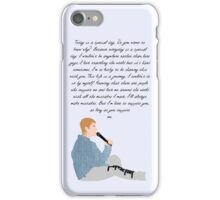 Justin Bieber Purpose Speech iPhone Case/Skin
