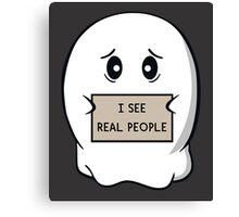 I See Real People Canvas Print