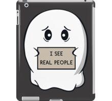 I See Real People iPad Case/Skin