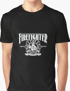 Firefighter Shirt - Fire Rescue Brotherhood T-Shirt Graphic T-Shirt