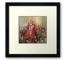 City Framed Print