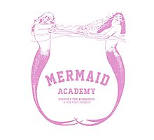 Mermaid Academy   Photographic Print