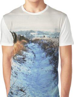 Snow Path Graphic T-Shirt