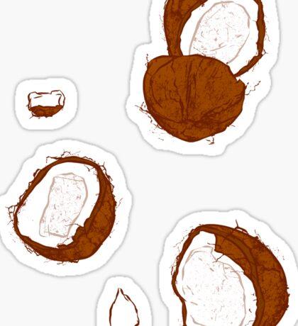 Coconut Sticker