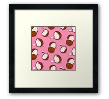 Coconut Framed Print