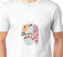 Tribal feather pattern 014 Unisex T-Shirt
