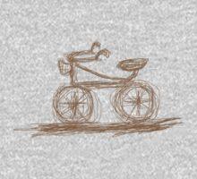 Retro Bike One Piece - Long Sleeve
