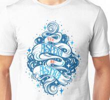 Per Aspera Ad Astra Latin phrase Unisex T-Shirt