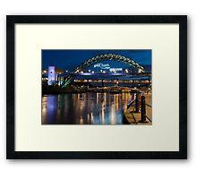 Tyne Bridge, Newcastle Framed Print
