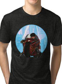 Kaneda (from Akira) Tri-blend T-Shirt