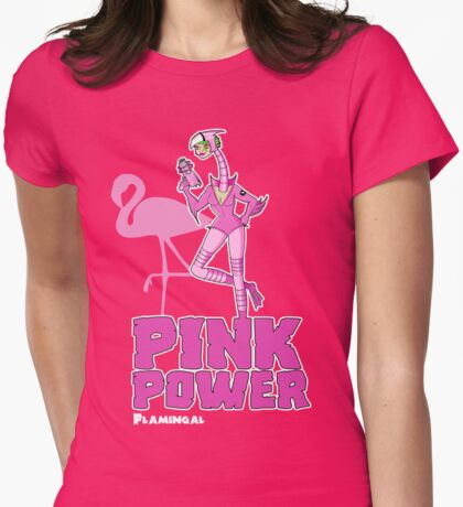 Flamingal - Pack Of Heroes Womens Fitted T-Shirt