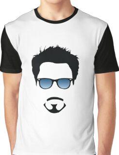 Robert Downey Jr Graphic T-Shirt