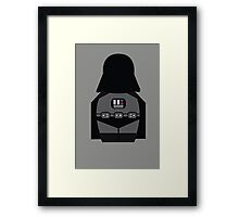 S.W. - D.V (without quote) Framed Print