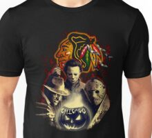 Chicago Blackhawks Halloween T-shirt  Unisex T-Shirt
