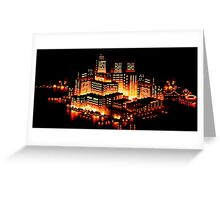 Night city - Streets of rage Greeting Card
