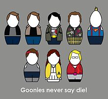 The Goonies - version 2 by Awesome Designing.com