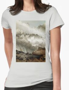 The Fortress Womens Fitted T-Shirt