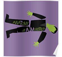 Anatomy of a Monster: Frankenstein Poster