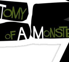 Anatomy of a Monster: Frankenstein Sticker