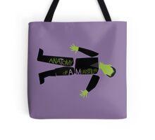 Anatomy of a Monster: Frankenstein Tote Bag