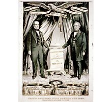 Grand national union banner for 1860 - 1860 Photographic Print