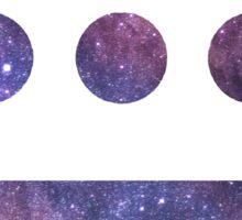 Hieroglyphics Symbol Space Sticker