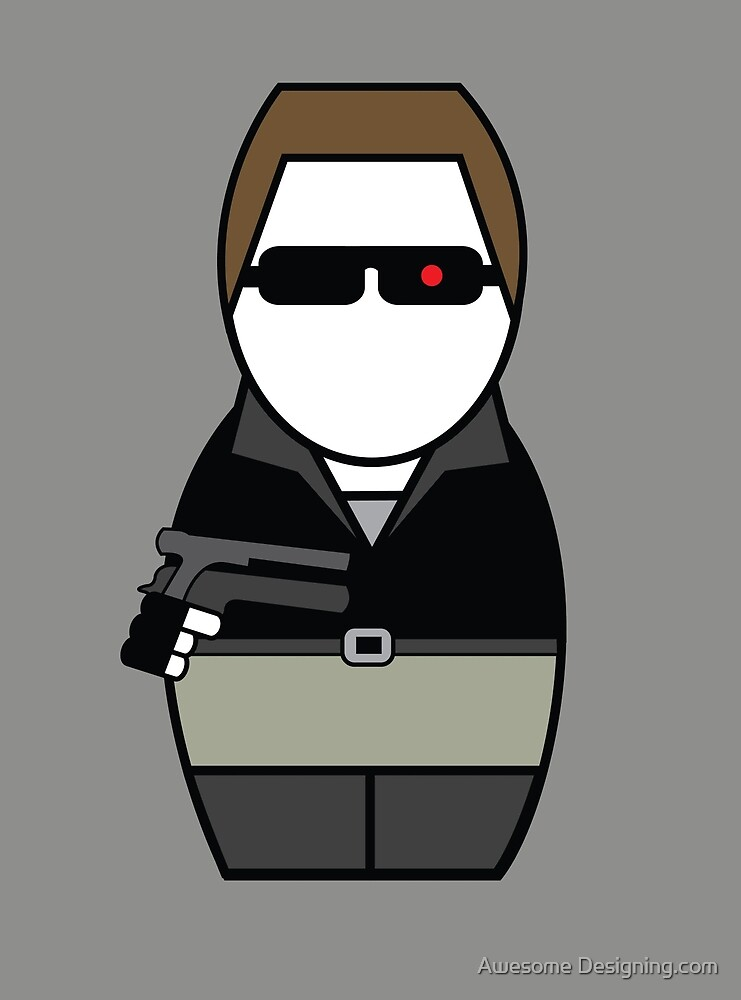 Terminator (without quote) by Awesome Designing.com