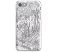 Forest on hills iPhone Case/Skin