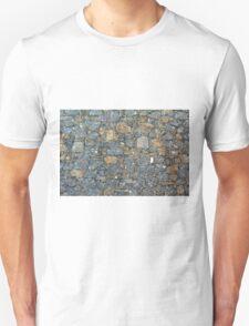 Stone wall texture Unisex T-Shirt