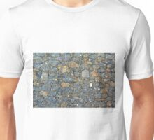 Stone wall texture Unisex T-Shirt